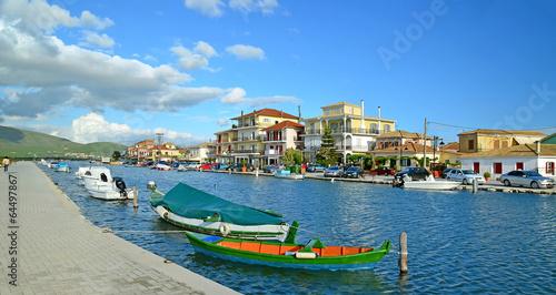 Aluminium Lefkada port - holidays in Greece