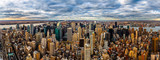 New York Panorama on a cloudy afternoon - 64498093