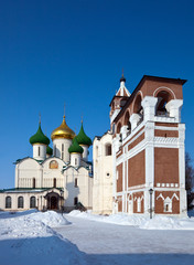 Saviour-Euthimiev monastery  at Suzdal in winter