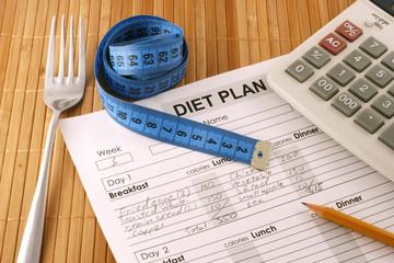 Planning of diet