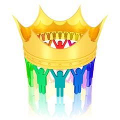 Volk und Krone