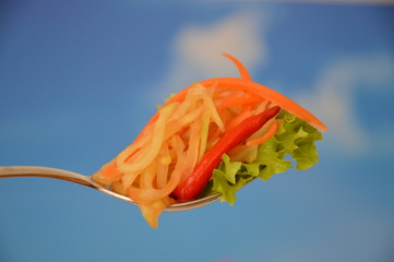 Papaya salad, Papayasalat