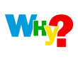 """""""WHY?"""" Letter Collage (questions explanations help support how)"""