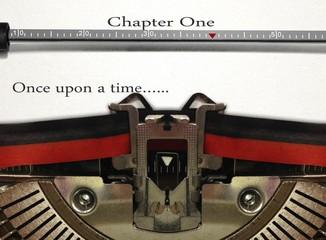 Typewriter Story Writing