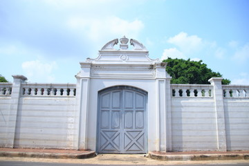 postern gate of Bang Pa-In Royal Palace