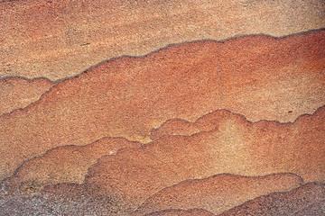 Texture of pink sandstone