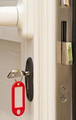 serrure de porte, concept sécurité