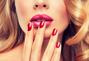 Manicure and Makeup