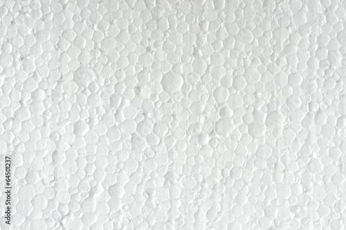 Staande foto Textures Polystyrene texture closeup