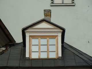 Dormer and chimney