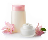 Fototapety Cosmetic cream and lotion