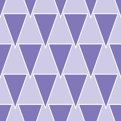 Purple geometric seamless pattern