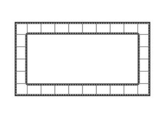 Filmstreifen, Rahmen