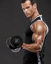 Muscle homme soulever des poids
