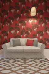 3d rendering of sofa