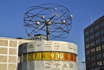 Weltzeituhr am Alexanderplatz - Berlin-Mitte