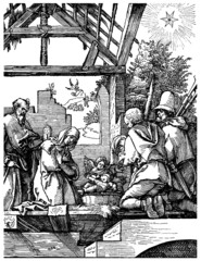 Nativity (Dürer : 16th century)