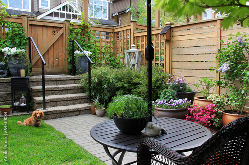 Staande foto Tuin Small garden