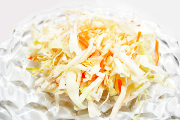 Fresh Summertime Cole Slaw Salad