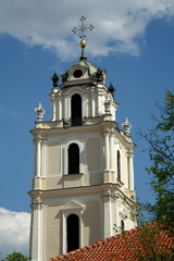 St.John church bell tower,Vilnius