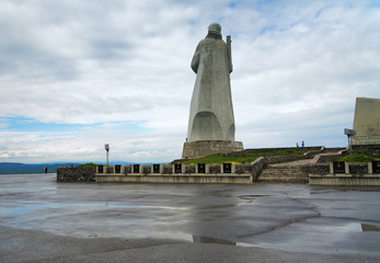 Memorial to the defenders of the Soviet Arctic in Murmansk