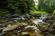 Leinwandbild Motiv Mountain stream