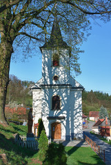 Catholic old village church