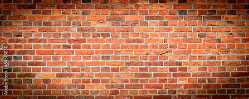 Background texture of a old brick wall - 64516030