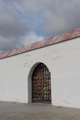 Tobolsk Kremlin , wooden gates