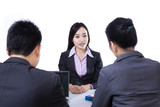 Job Interview - isolated