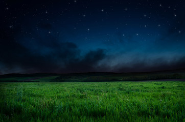 night background