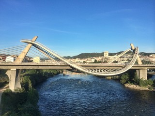 Millenium bridge in Orense, Spain