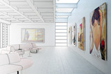 Fototapety Gemäldegalerie (Zeichnung)