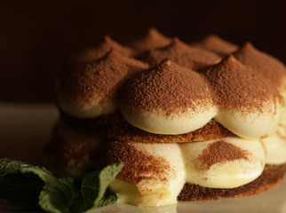 italian dessert - tiramissu