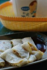 蛋餅(ダンピン)台湾の朝食・クレープ
