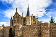 Gaudi Palace in Astorga, Leon, Spain