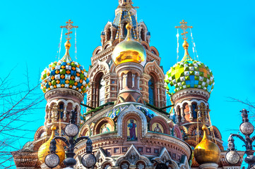 Cupola of the Church of the Savior on Blood, St Petersburg