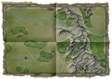 Überlandkarte