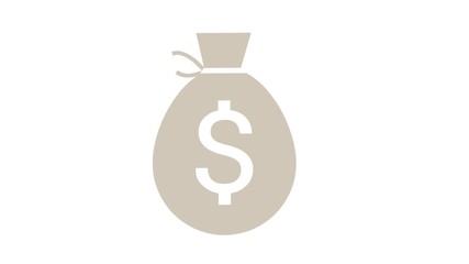 Geld Dollar Geldsack Kohle Moneten