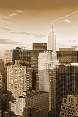 Manhattan top view