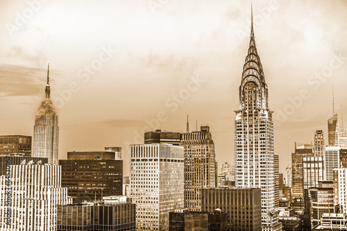 Manhattan top view - 64530057