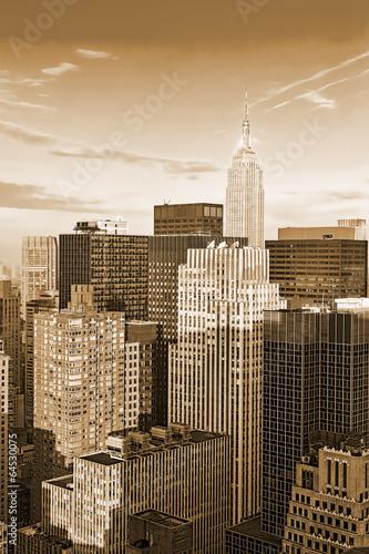 Manhattan top view - 64530075