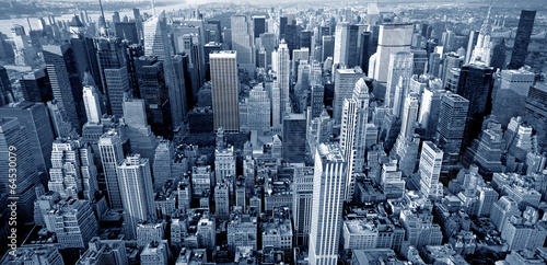 Manhattan top view - 64530079