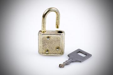 Schlüssel zum Schloss