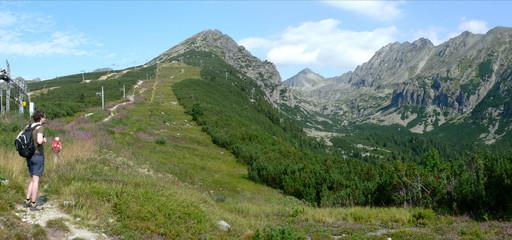 Panorama zum Soliskom