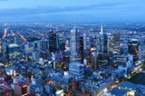 Aerial view of Melbourne Australia