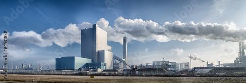 Staande foto Industrial geb. power plant