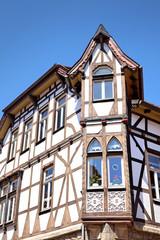 Historisches Haus in der Altstadt von Warburg