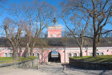 Gates of sea fortress Suomenlinna, Helsinki
