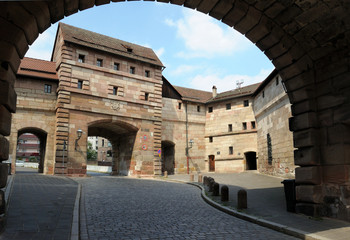 Kaiserburg in Nuremberg, Germany